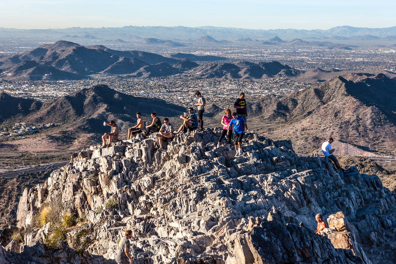 Piestewa Peak provides a phenomenal panorama of the Phoenix Metro for all to enjoy.