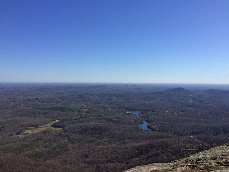 The view from the top of Table Rock makes climbing it worth the effort!