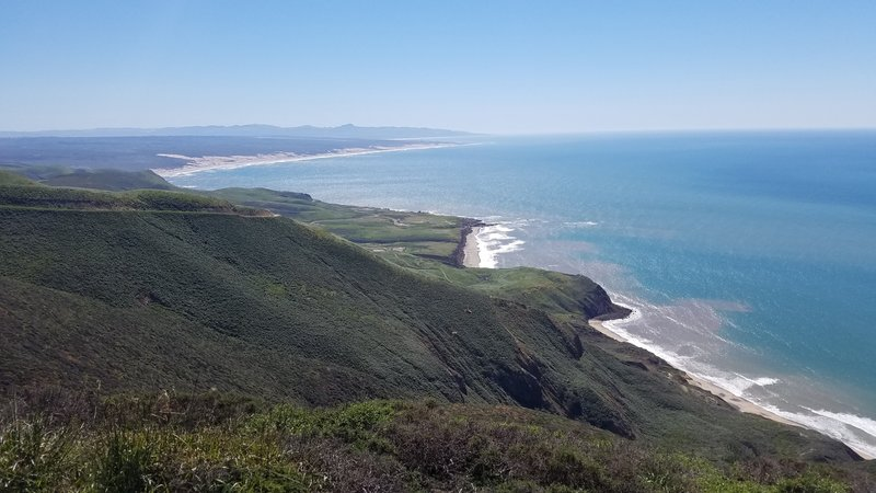 Enjoy endless coastal views from Point Sal Ridge.