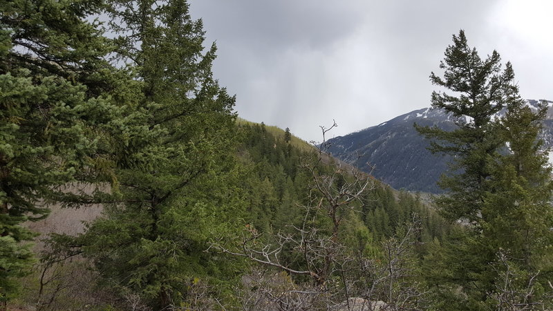 Keep your eyes on the clouds up here –you hear about Colorado's afternoon thunderstorms for a reason!