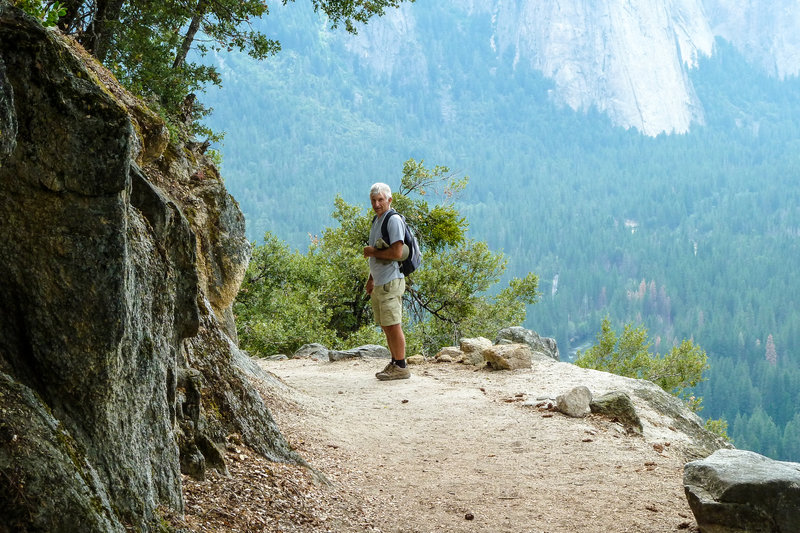 Hike Four Mile Trail for phenomenal views of Yosemite Valley.