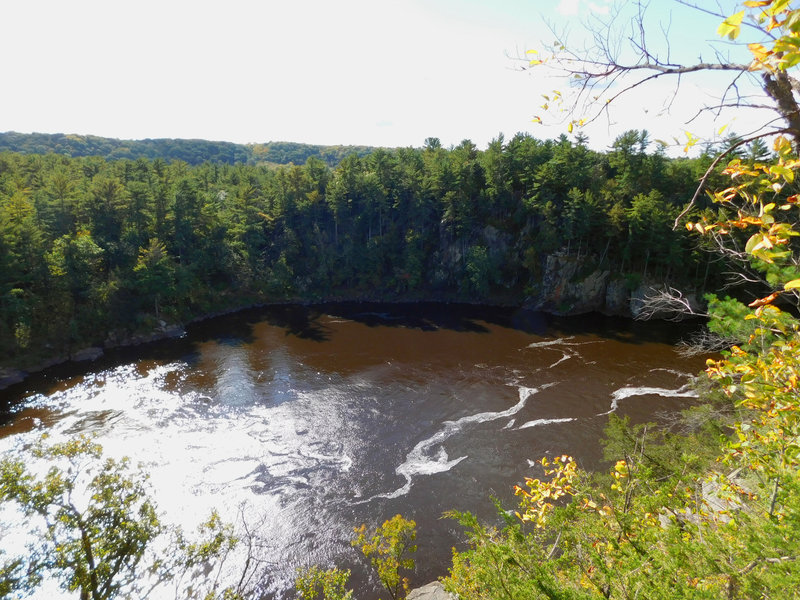 Enjoy great views of the St. Croix River from overlooks along the River Trail.