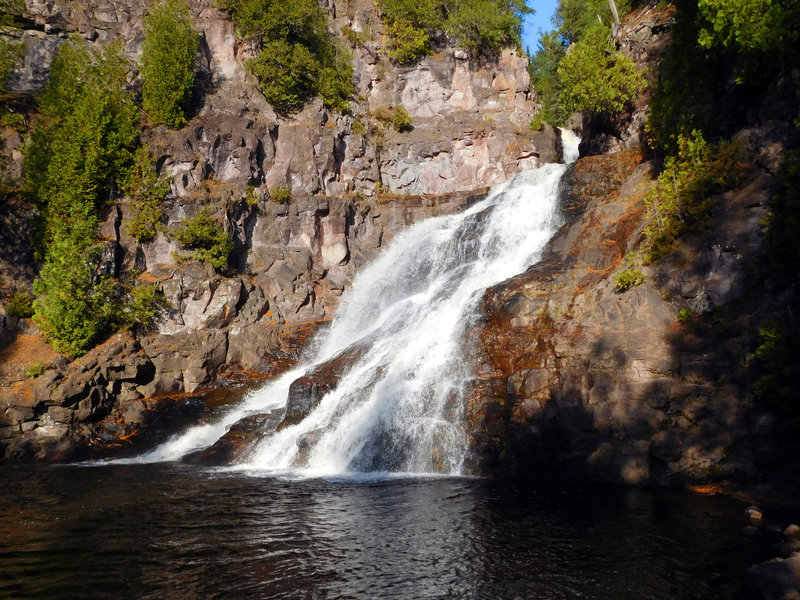 Pictures never do this waterfall justice. As you descend the stairs into the gorge where Caribou Falls resides, you'll stand in awe of the wonder that towers before you.