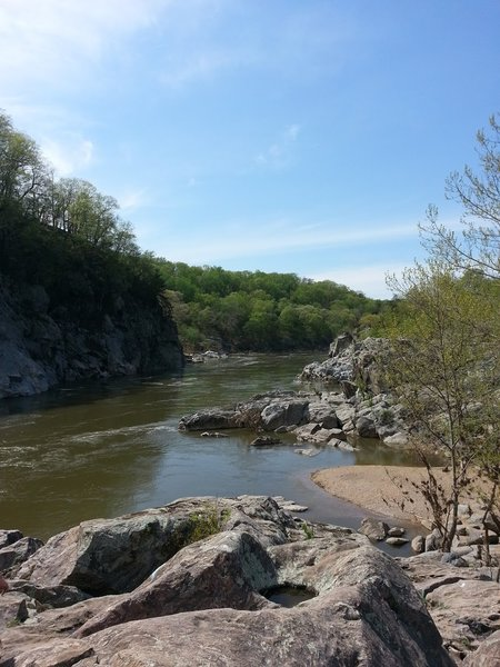 Check out the Billy Goat Trail for great views of the Potomac.