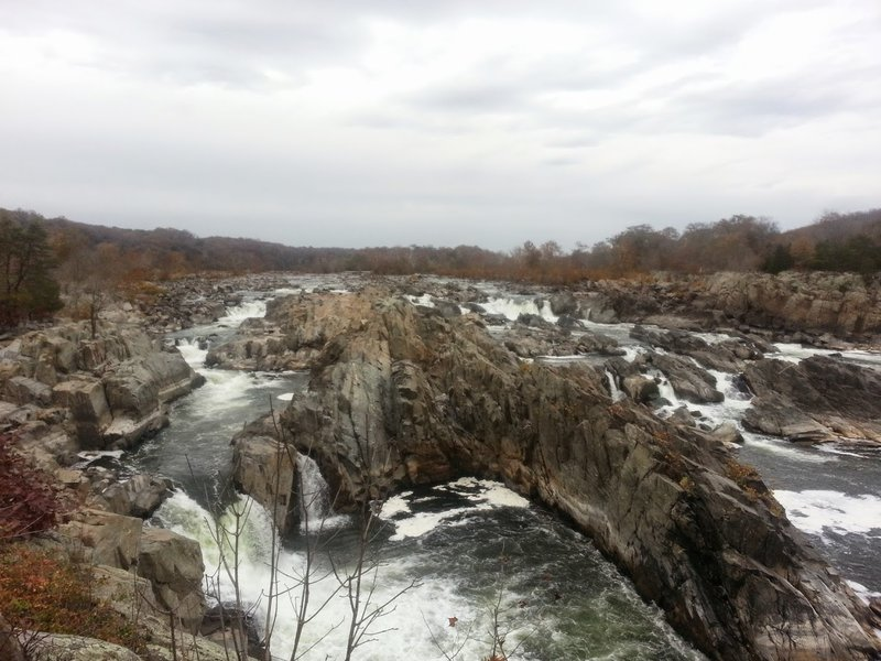 Great Falls Overlook is a worthy destination in itself.