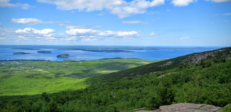 Experience phenomenal views from the Gorham Mountain Trail.