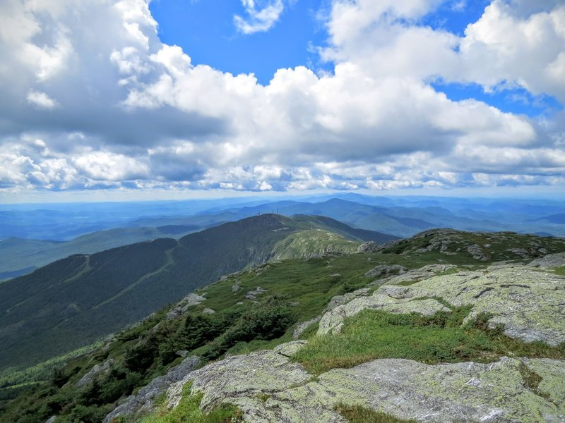 The summit of Mount Mansfield leaves little to be desired.