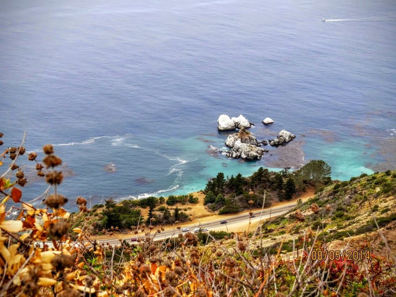Lookout Trail Viewpoint offers phenomenal views of the ocean and the coastline below.