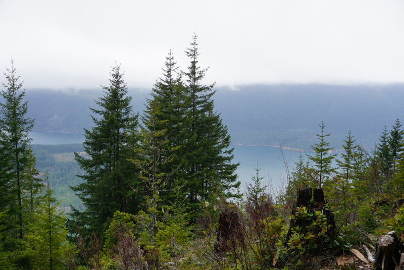 Beautiful views abound as you make your way up Mt. Ellinor.