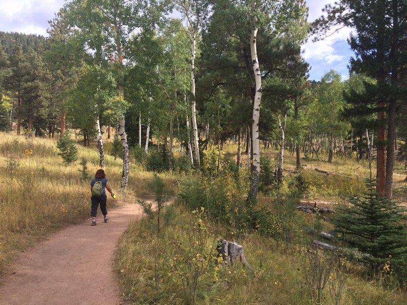 Staunton Ranch Trail offers beautiful views and quiet solitude.