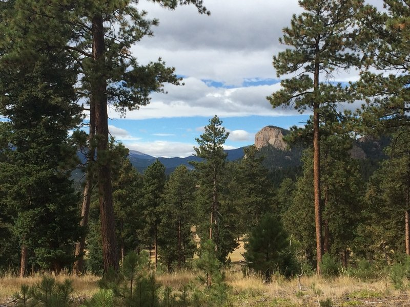 Enjoy a great view of Lions Head along the Staunton Ranch Trail.