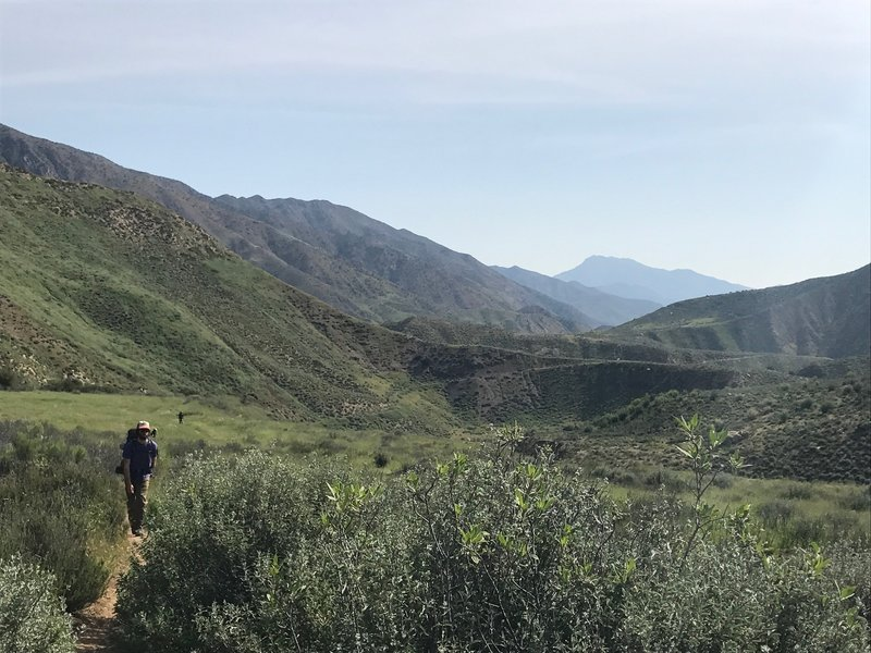 Hiking back toward the trailhead, don't forget to turn around and enjoy the view one last time.