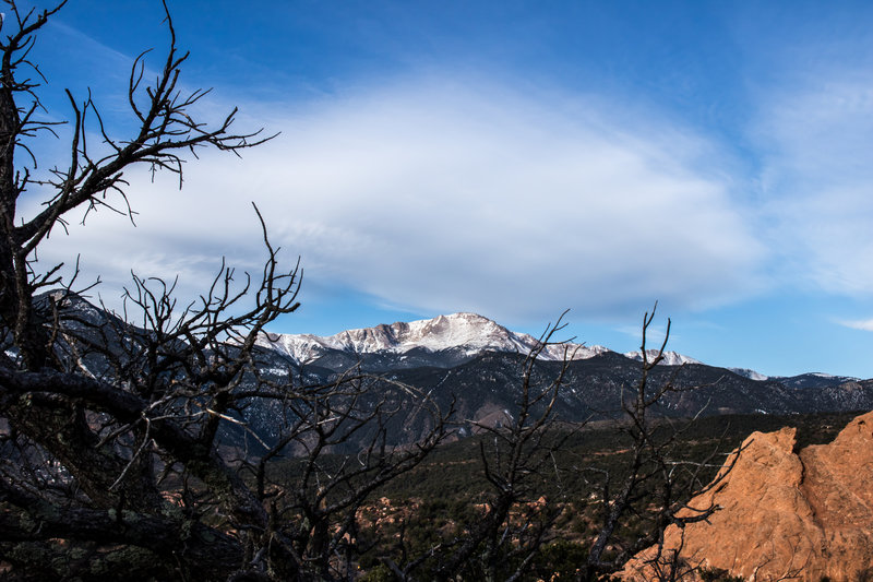 There are lovely viewpoints along the Ridge Trail.