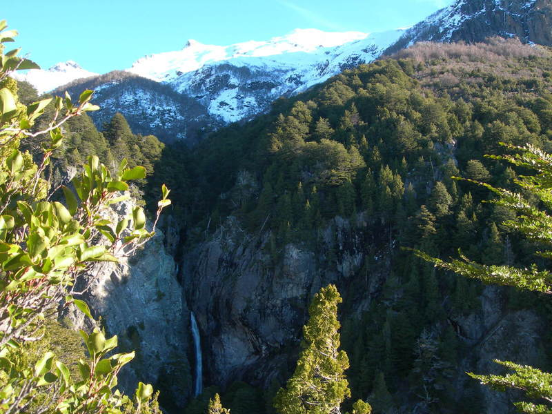 Cascada Waterfall is utterly gorgeous from the Cerro Lopez Trail.