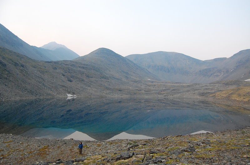 This alpine lake creates a beautiful backdrop to your time on the trail.