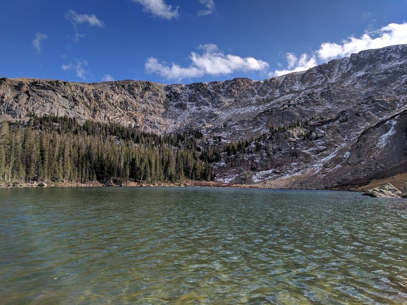 Upper Turquoise Lake.