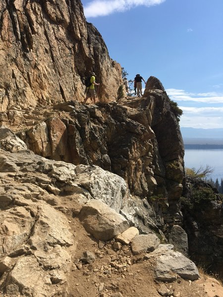 Heading up toward Inspiration Point, be sure to take a second to stop and enjoy the view!