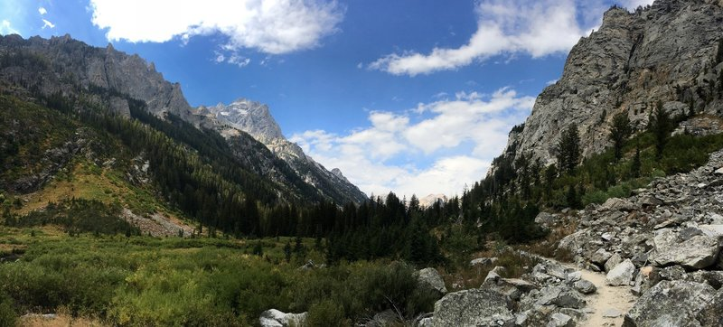 It's just so pretty in Cascade Canyon.