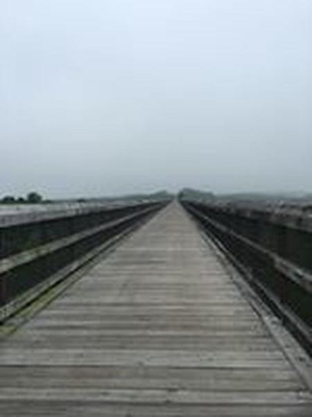 The bridge on the High Bridge Trail.