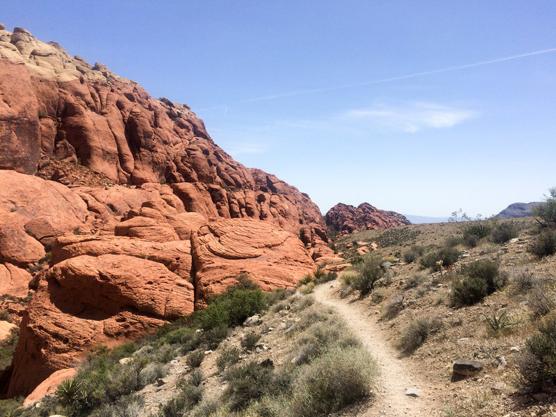 Skirting the Red Rocks on the Grand Circle Loop.