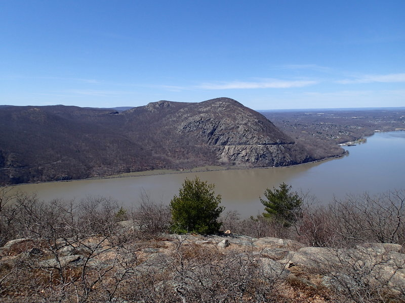 A view of Storm King Mountain.