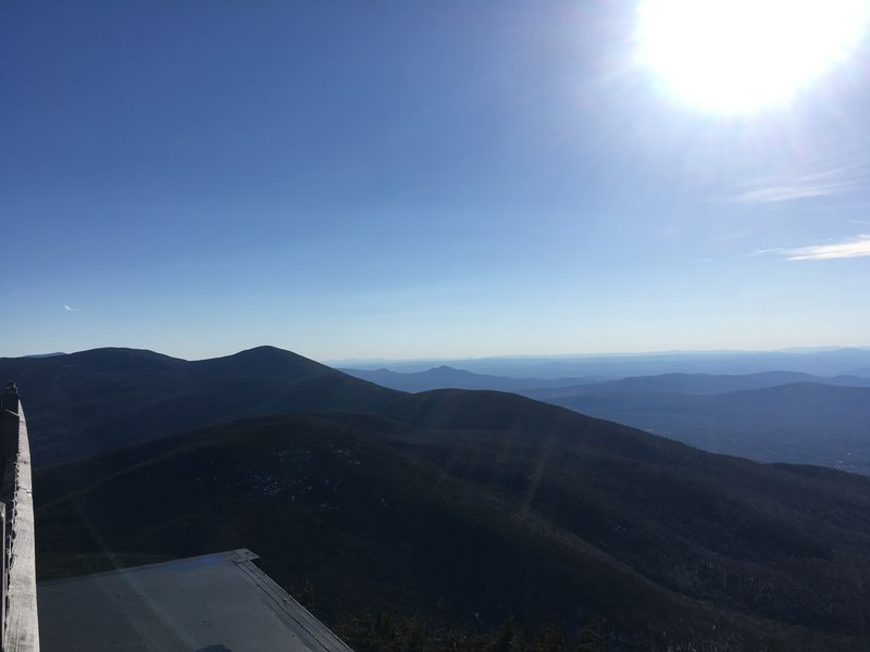 Northwest view from Cannon Mountain.