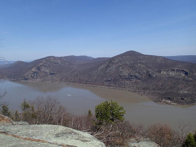 View of Breakneck Ridge and Mt. Taurus.