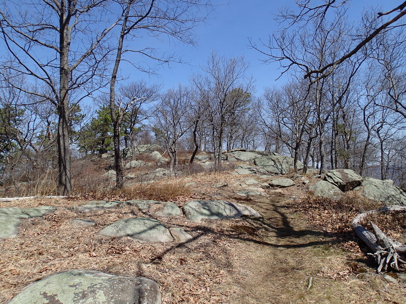 Howell Trail at Storm King State Park.