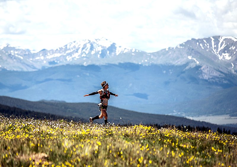 Silver Rush 50 Run - part of the Leadville Race Series.