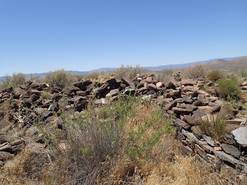 This is another look at the Pueblo Ruins.