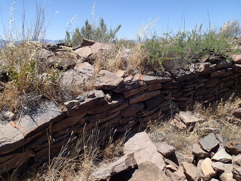 Check out the foundation of the pueblo while you're out here.