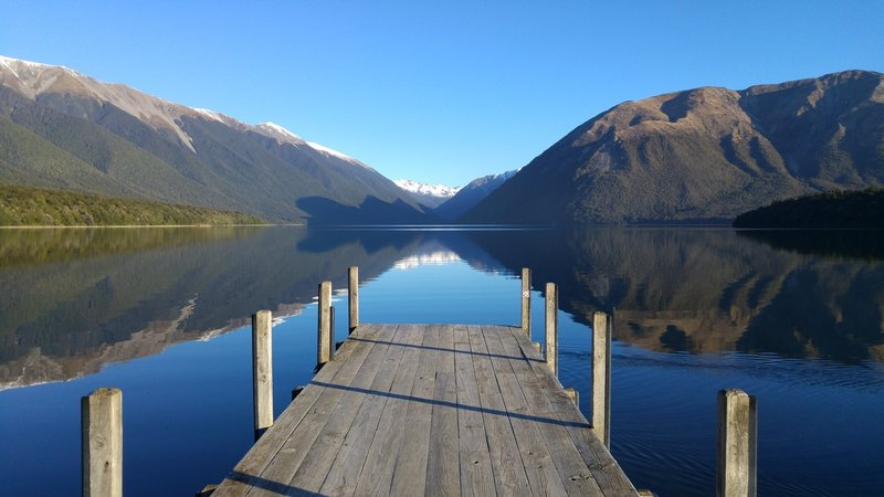 Lake Rotoiti in Nelson Lakes National Park is like nothing else.