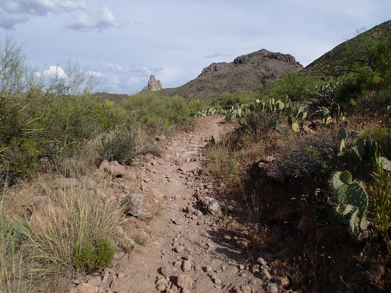 The Dutchman Trail can be a bit rocky, but always comes through with great views.