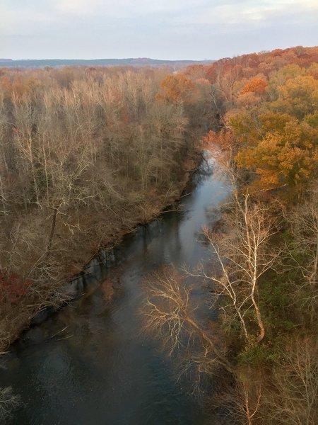 Late autumn on the Appomattox River.