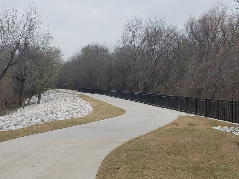 The Campion Trail offers a beautiful smooth tread and pleasant views.