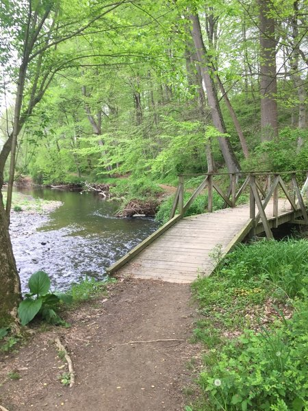 A bridge along a part of the Pendel Trail.