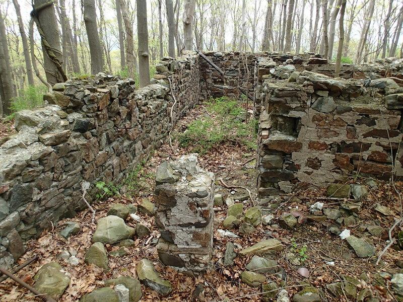 Foundation ruins.