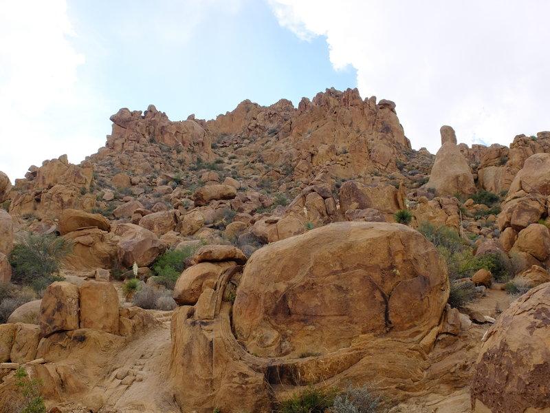 Beautiful rocks of the Grapevine Hills.