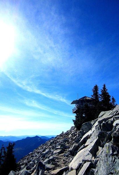 Granite Mountain Lookout.
