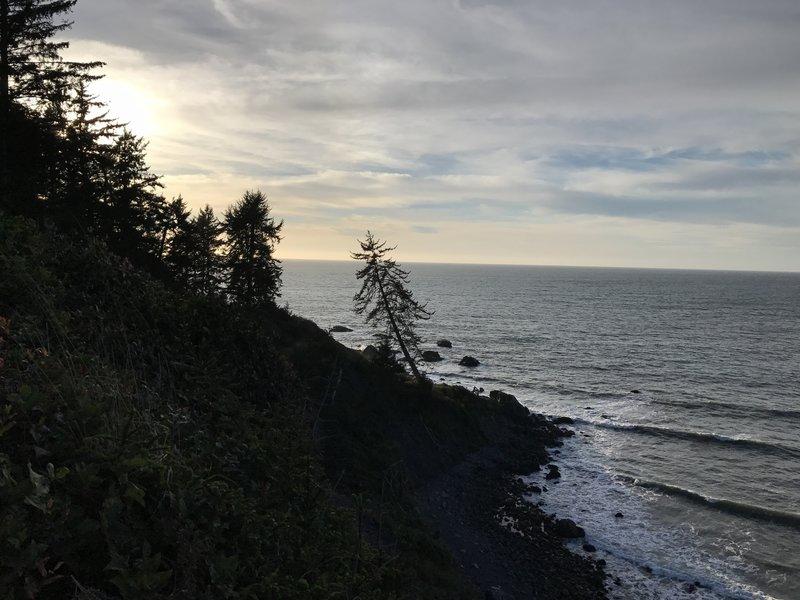 Mussel Rocks Trail.