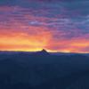 Sunrise from Windom Peak.