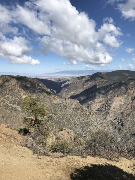 Mark Warner Point provides a beautiful view of Black Canyon of the Gunnison National Park.