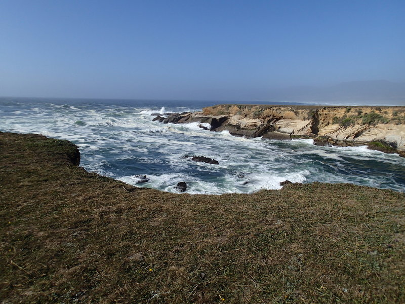 Enjoy this view from the first point along the Lighthouse Trail.