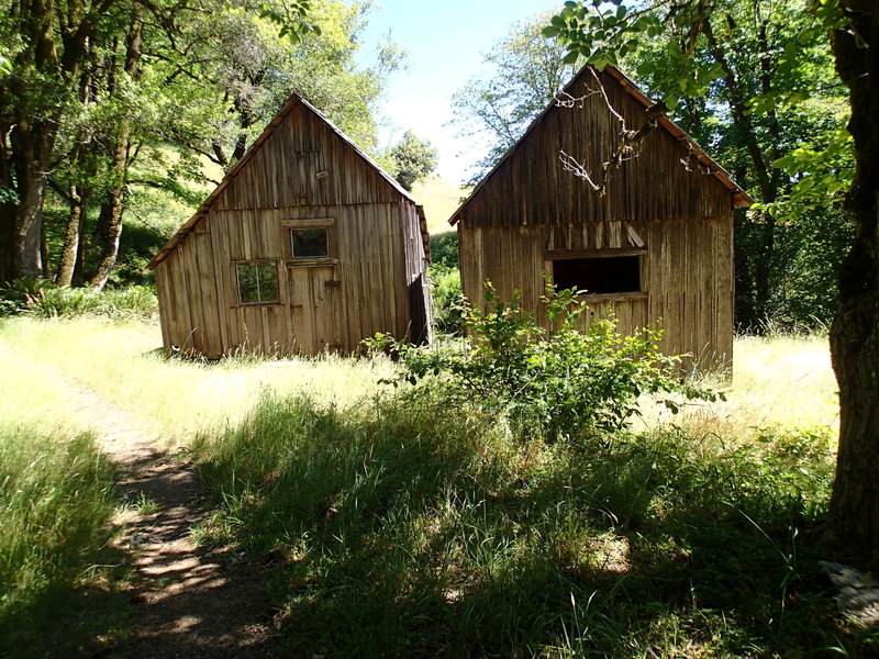 Bunk Houses speak to this area's past as a working ranch.