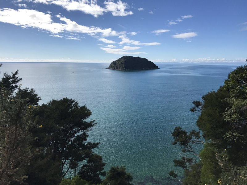 Experience great views from the Abel Tasman Coastal Track.