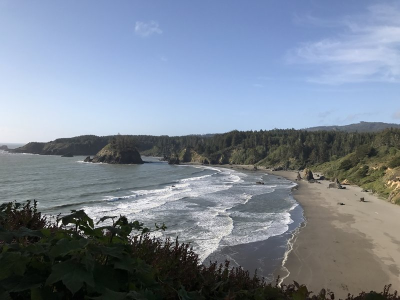 The view from Trinidad Head can feature whales, surfers, and sea lions if you're lucky!