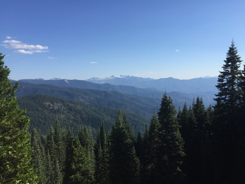 The view from Deacon Lee Trailhead is pretty alright.