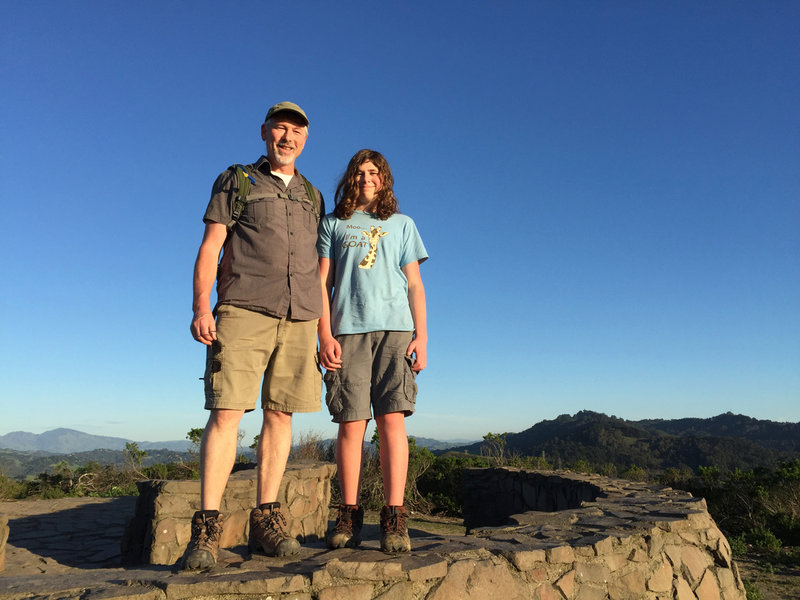 The Wildcat Peak Trail offers gorgeous views for the whole family.