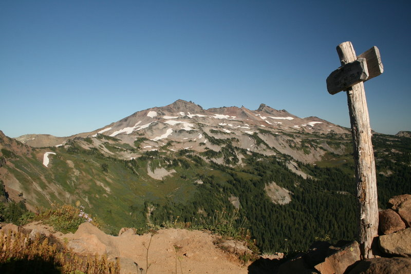 Enjoy the view toward Snowgrass Flats from the Lily Basin - Goat Ridge junction.