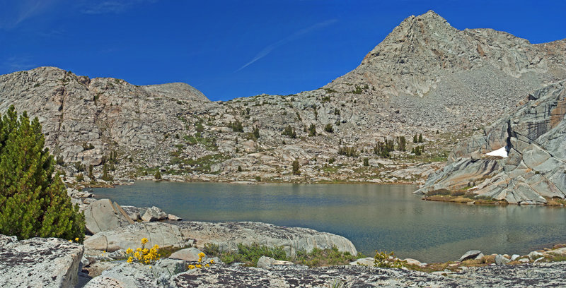 Schoolmarm Lake is gorgeous in the summertime.